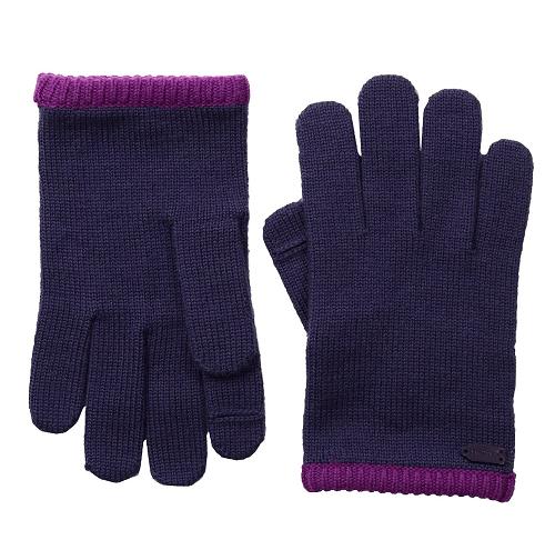 COACH Color Block Knit Gloves $19.99 (Reg $68)