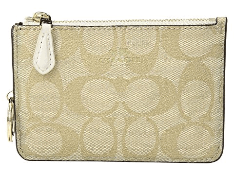 COACH Signature PVC Key Pouch
