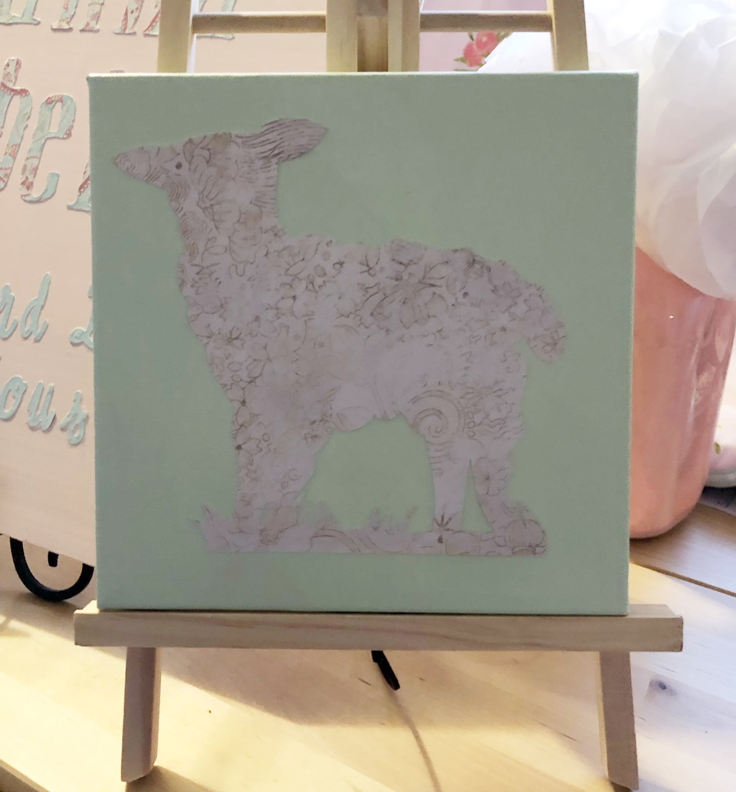 Cricut Canvas Project