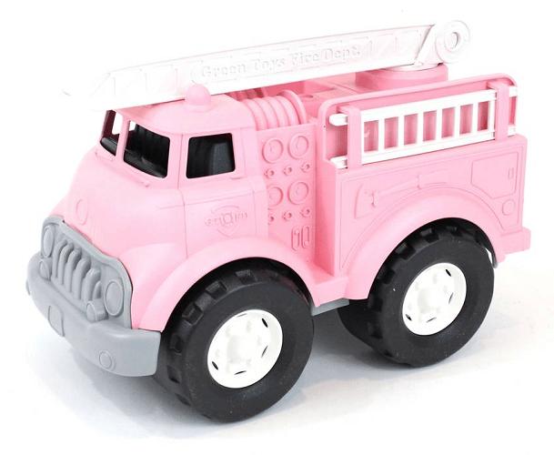 Green Toys Fire Truck Toy Pink $17.98 (Reg $29.99)