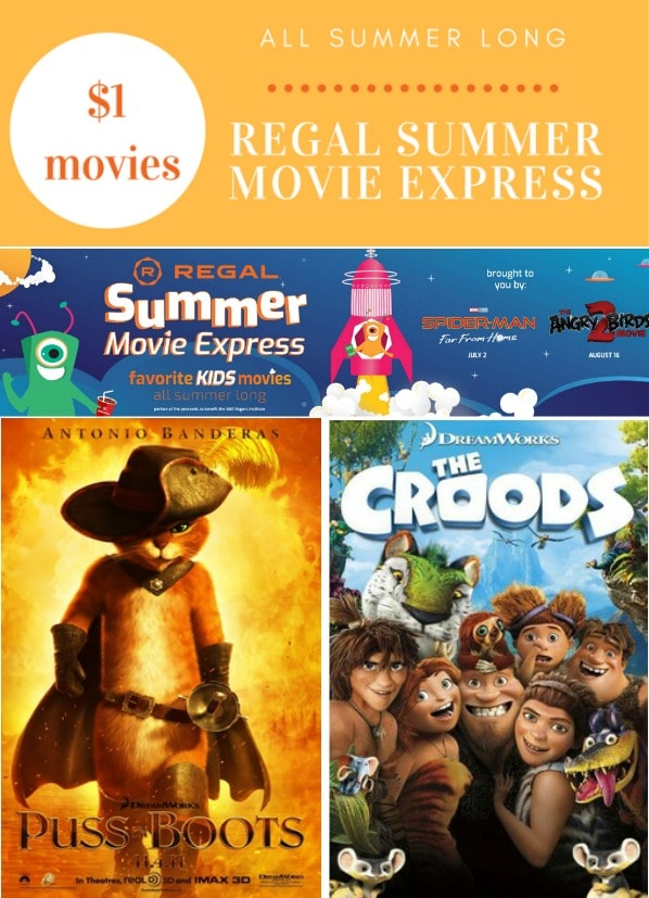 Regal Summer Movies Express $1 Movies for Kids