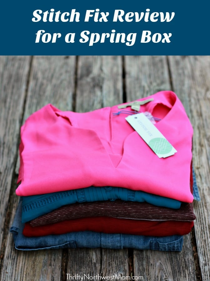 Stitch Fix Spring Box Review + Gift Card Option for Mother's Day
