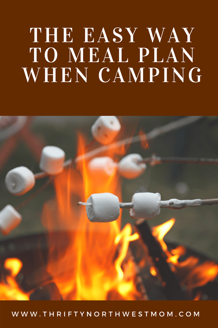 The Easy way to Meal Plan when camping