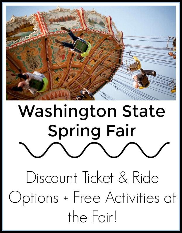 Washington State Spring Fair Updates (Formally Puyallup Spring Fair)