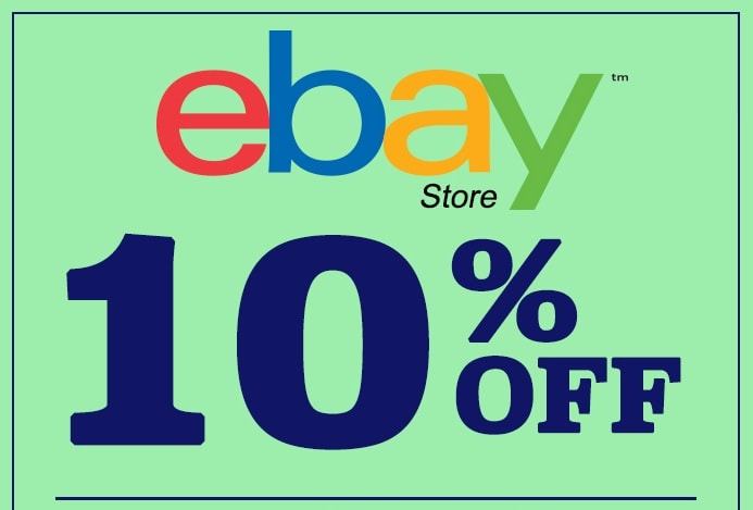 10% off $25 At Ebay On Tech, Fashion, Luggage, and More!