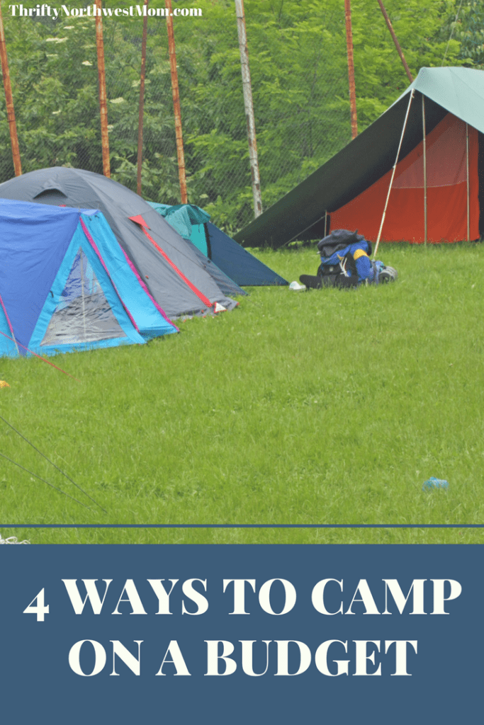 Frugal Camping – 4 Ways to Camp on a Budget