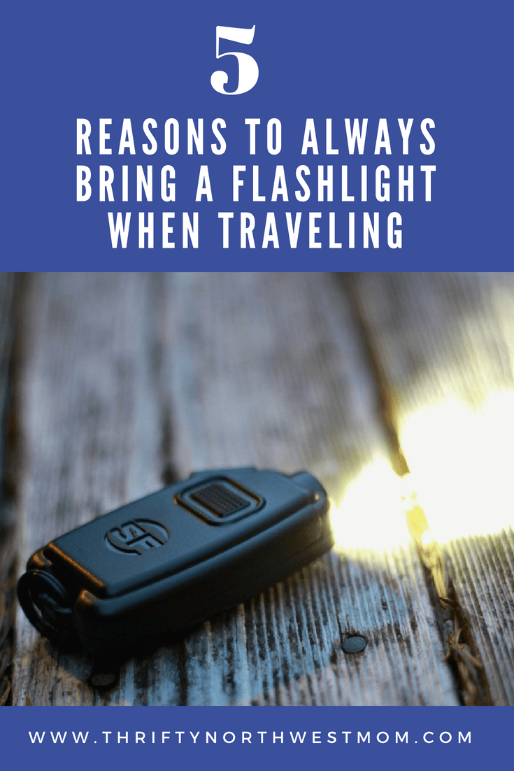 5 Reasons to Always Bring a Flashlight When Traveling + Surefire Sidekick Keychain Light for Powerful Travel Flashlight