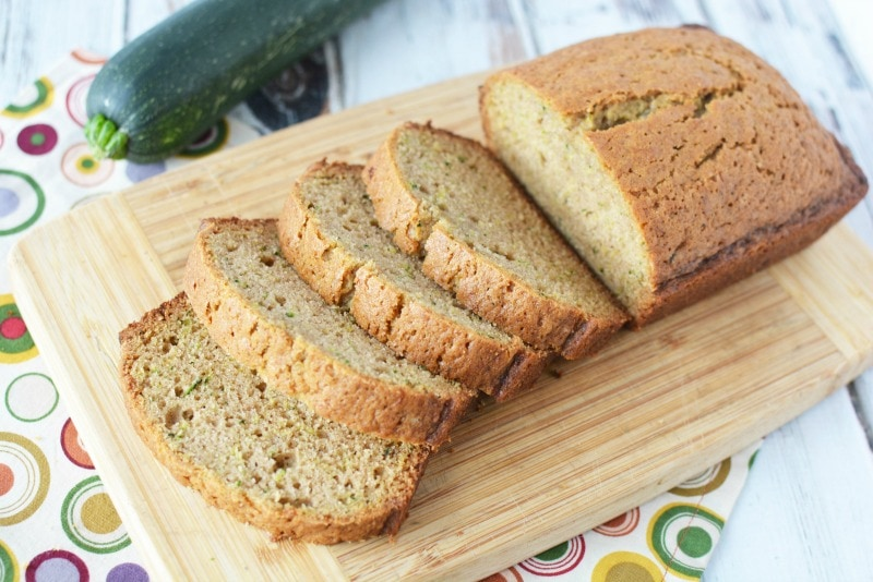 A moist & flavorful zucchini bread