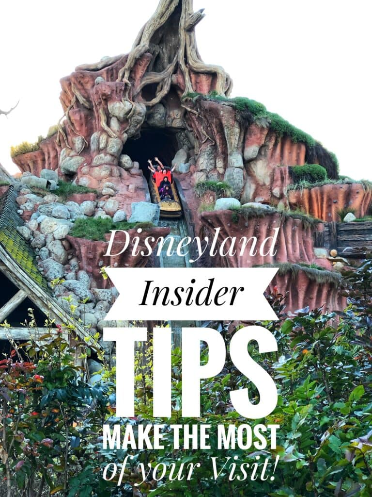 10 Disneyland Insider Tips – Making The Most Out of Your Disneyland Trip!