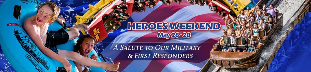 FREE Admission To Wild Waves for Military & First Responders This Weekend!
