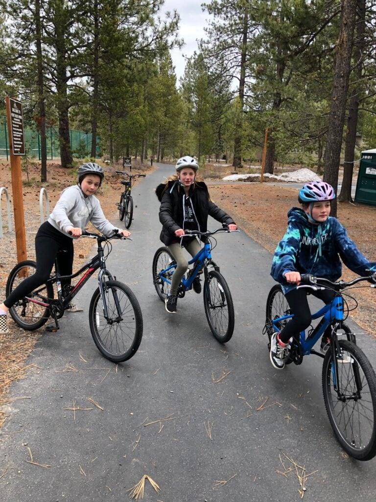 biking in sunriver oregon