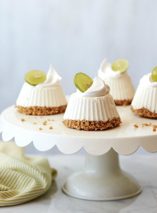Mascarpone Key Lime Mini Pies from the Seriously Good Freezer Meals Cookbook