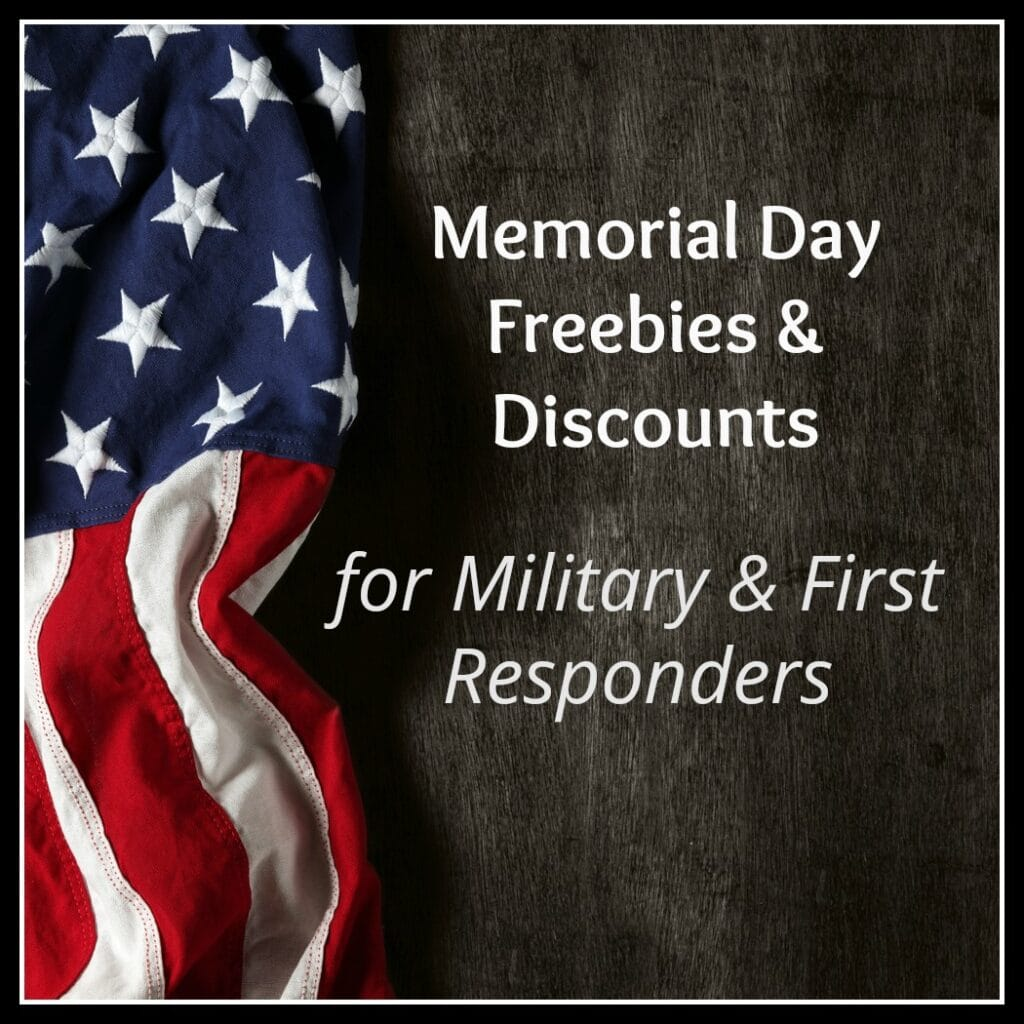 Memorial Day Deals 2019 For Military & First Responders (Free Tickets to Wild Waves, Oregon Zoo & More)!