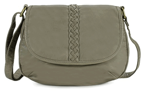 Scarleton Natural Style Crossbody Bag