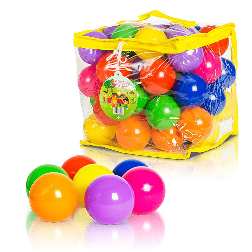 Soft Plastic Kids Play Balls 50 pack