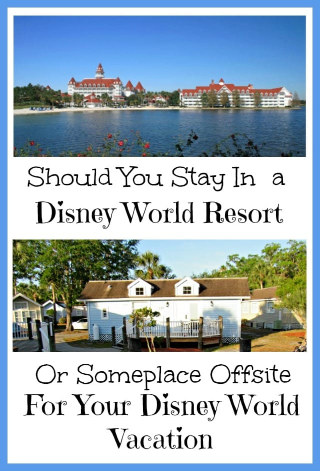 Should You Stay at a Disney World Resort or Not