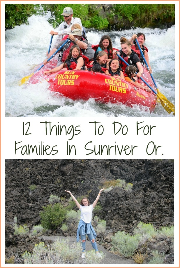 Sunriver Oregon – 12 Things To Do For Families In The Summer!