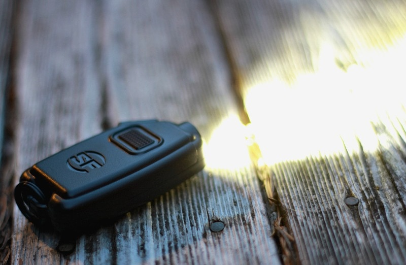 Surefire Sidekick Keychain Light with a powerful wide beam