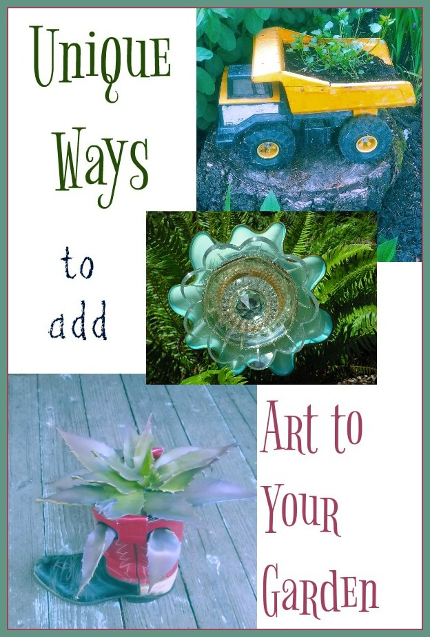 11 Unique Garden Art Ideas That Are Budget Friendly!