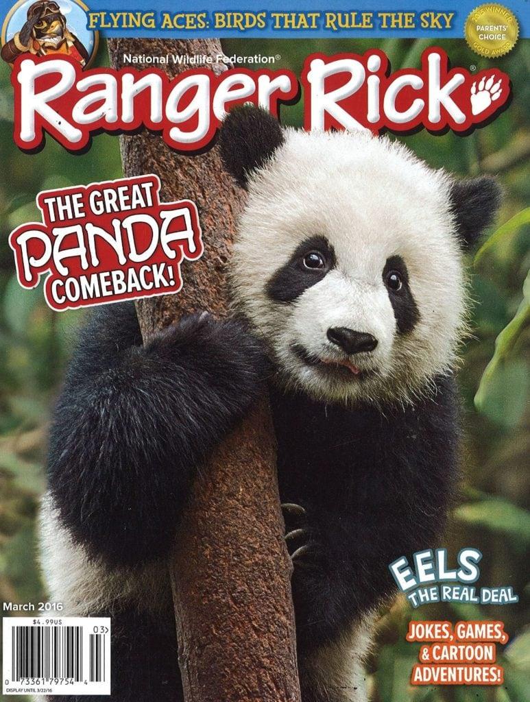 Ranger Rick Magazine – $17.99 per year