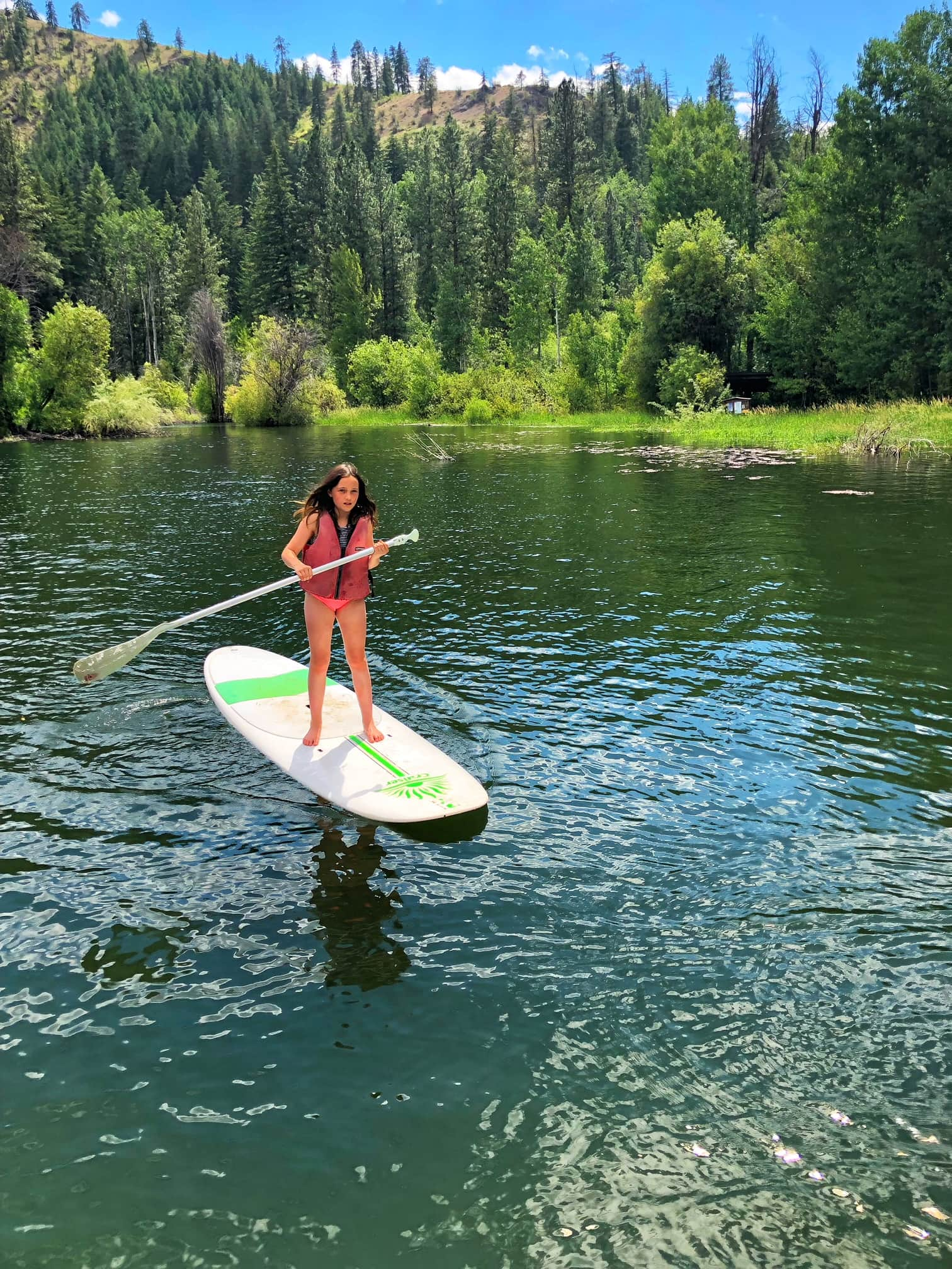Paddle Boarding in Winthrop