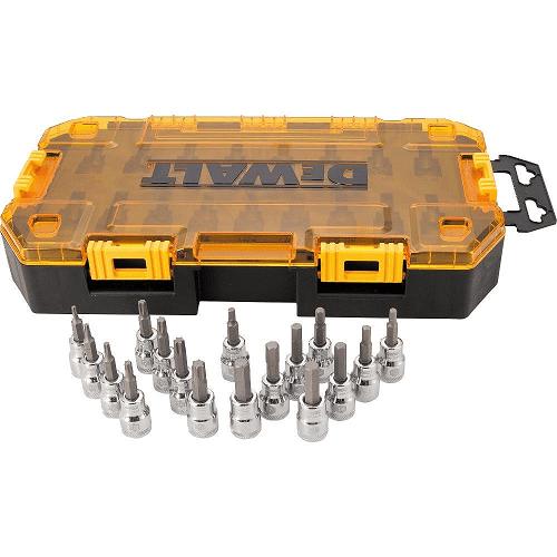 DEWALT Drive Socket Set (17 Piece)