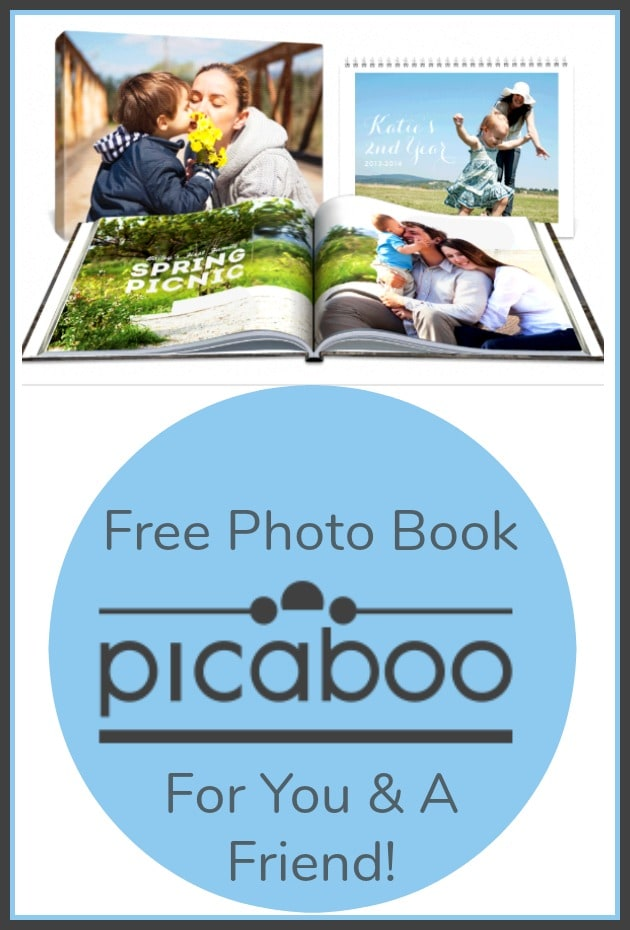 Picaboo Photo Books – FREE Photo Book Offer!