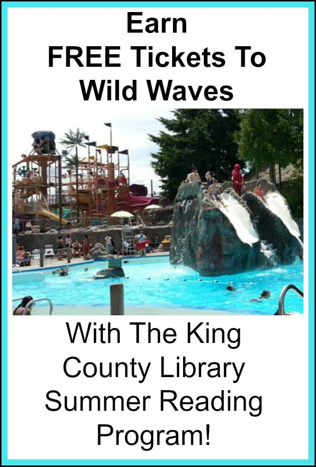 FREE Wild Waves Passes From King County Library Reading Program