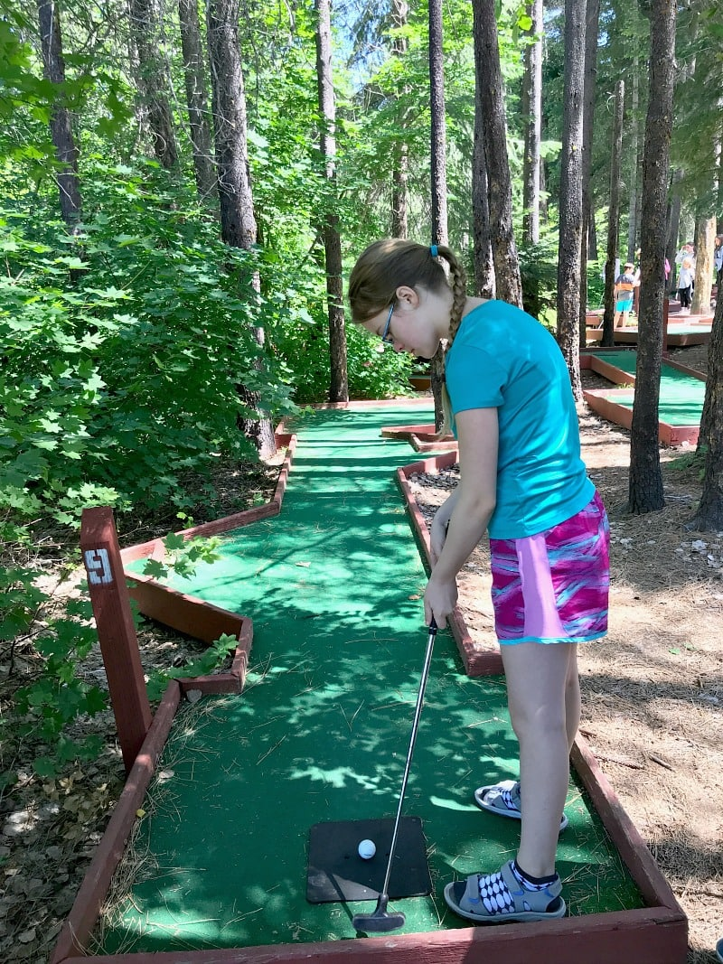 Mini Golf at Leavenworth Thousand Trails Campground