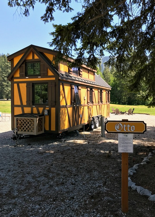 Otto Tiny Bavarian House at Leavenworth Tiny House Village