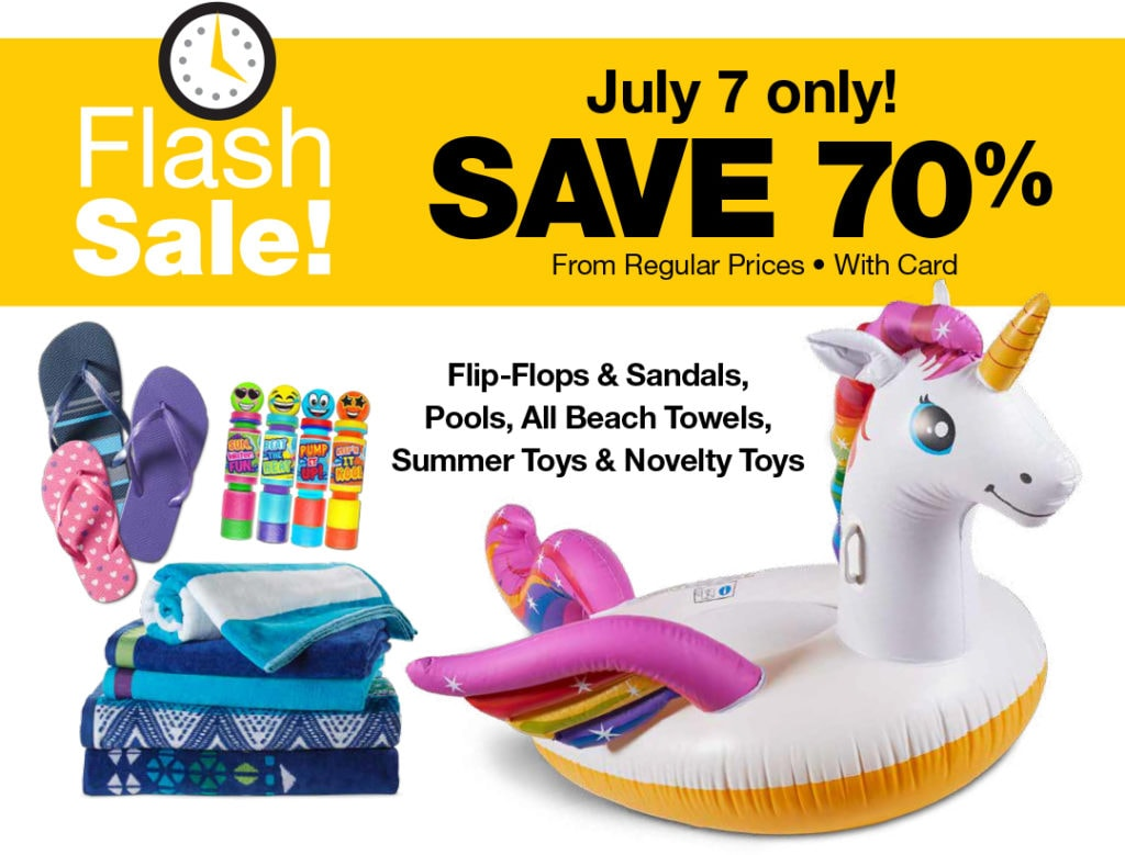 70% Off Flash Sale For Summer Toys at QFC – Today Only!