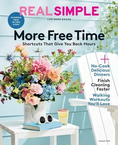 Real Simple Magazine Subscription – $5 for a 1 Year Today!