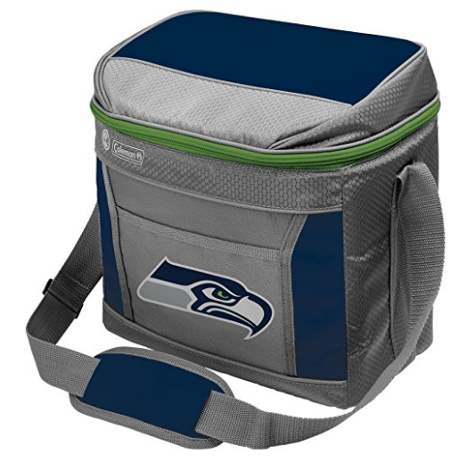 Seahawks NFL 16 Can Soft-Sided Cooler with Ice