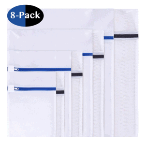 Set of 8 Mesh Laundry Bags