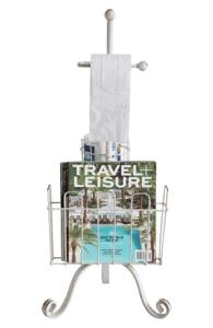 Toilet Paper & Magazine Stand