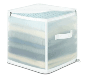 Whitmor Zippered Collapsible Cube