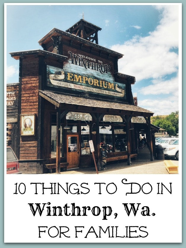 Winthrop Wa family Guide