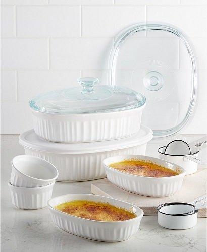 Corningware French White 10 Piece Bakeware Set – $19.99 (Reg $79.99)