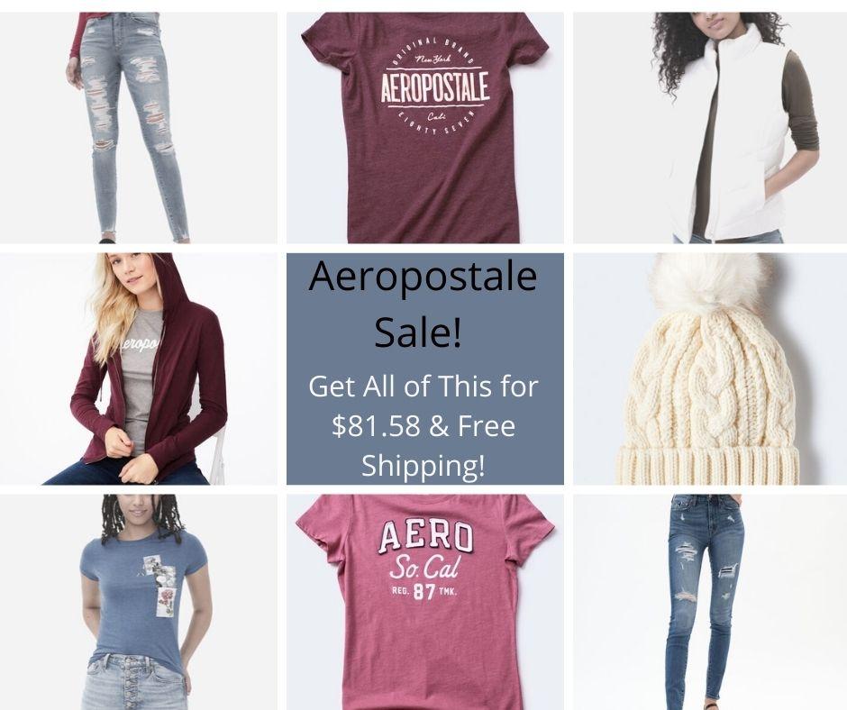 Aeropostale Sale – Up To 80% Off Sale = Super Deals!