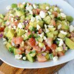 Cucumber Tomato Avocado Salad Recipe – Delicious & Healthy!