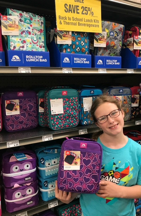 Back to School Lunchboxes on sale
