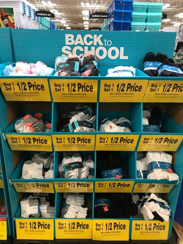 Back to School Sock Deals