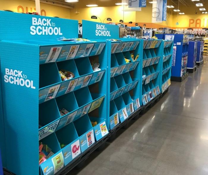 Back to School Supply Bins