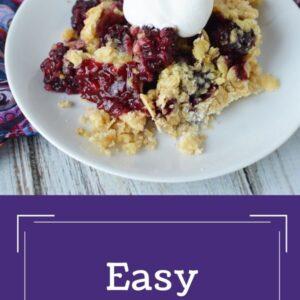 Easy Blackberry Cobbler recipe