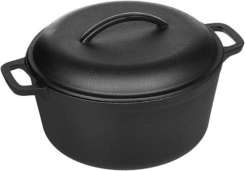 Cast Iron Dutch Oven 5 qt