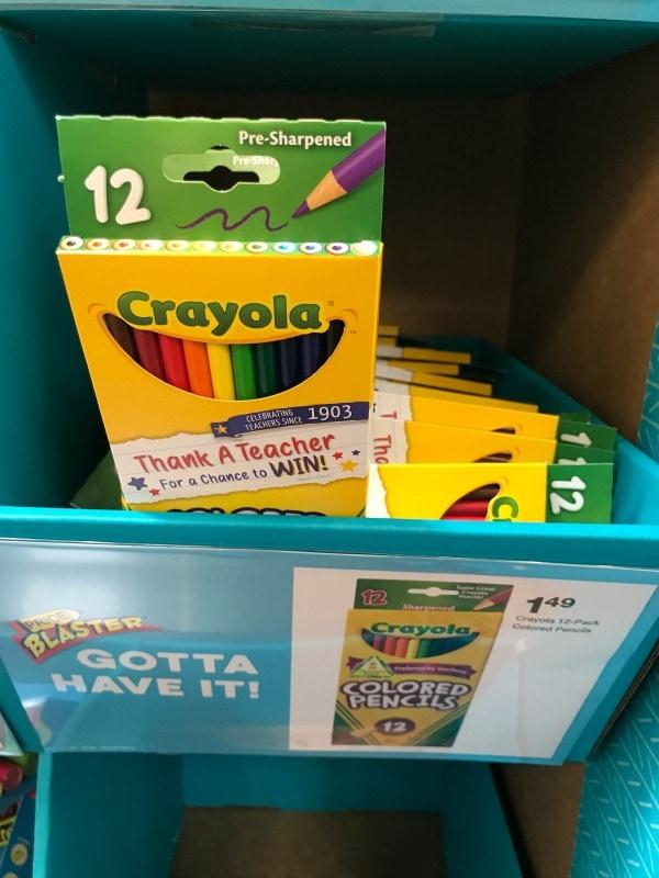Crayola Colored Pencils on sale