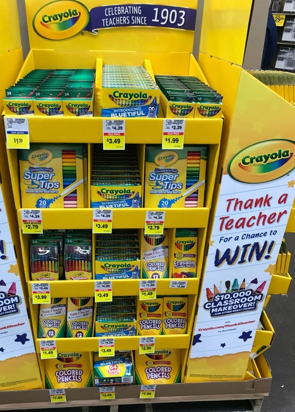 Crayola Price Blaster Deals