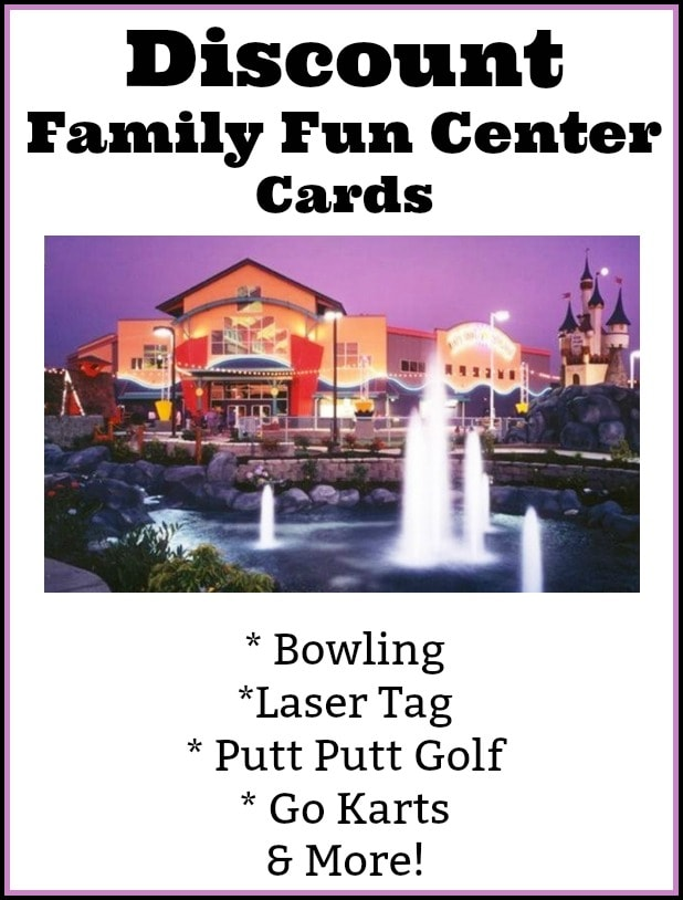 Family Fun Center Deal (Putt Putt, Bowling, Laser Tag, Go Karts & More)!