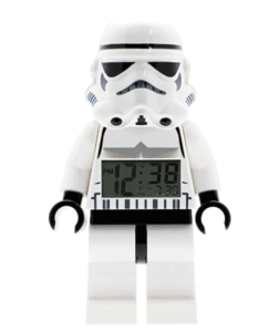 LEGO Star Wars Stormtrooper Kids Minifigure Light Up Alarm Clock