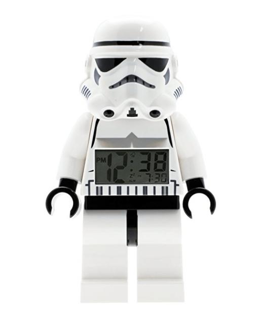 LEGO Star Wars Stormtrooper Kids Minifigure Light Up Alarm Clock